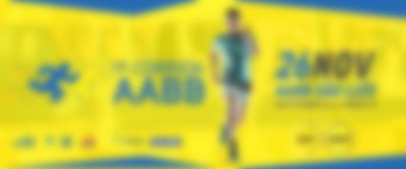 Corrida aabb banner site central da corrida