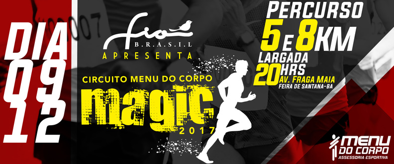 Circuito Menu do Corpo Magic