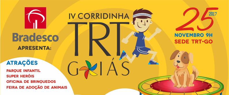 IV Corridinha TRT – Contra o trabalho infantil