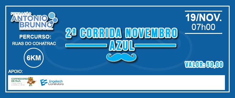 2º Corrida Novembro Azul