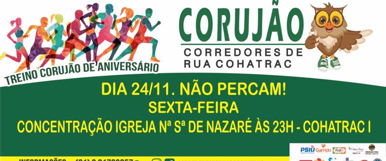 TREINO CORUJÃO DE ANIVERSARIO GRUPO