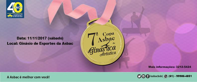 7ª Copa Asbac de Ginástica Artística