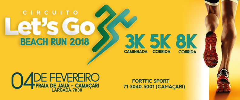 Circuito Let's Go Run - Etapa Beach Run