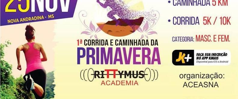CORRIDA E CAMINHADA DA PRIMAVERA RITTUMUS ACADEMIA