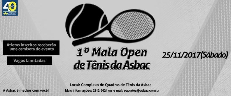 1º Mala Open de Tênis da Asbac