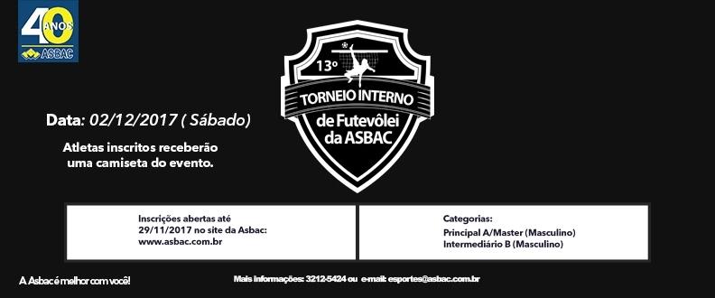 13º Torneio Interno de Futevôlei da Asbac