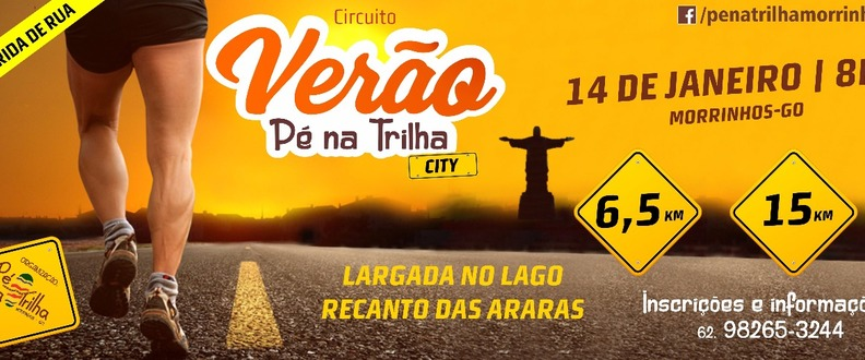 Circuito Verão Pé na Trilha City