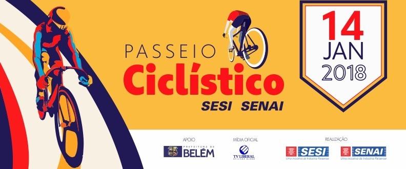 PASSEIO CICLÍSTICO SESI SENAI BELÉM 2018