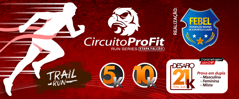 Circuito ProFit Run Series - Etapa Falcão