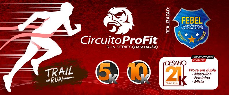Circuito ProFit Run Series - Etapa Falcão