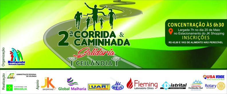 2ª Corrida e caminhada Solidaria de Ceilândia