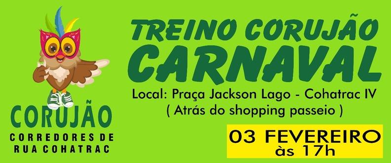 TREINO CORUJÃO CARNAVAL
