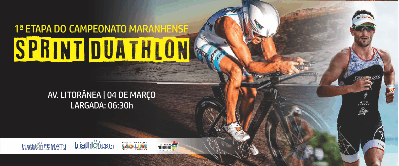 1ª etapa do Maranhense de Sprint Duathlon 2018
