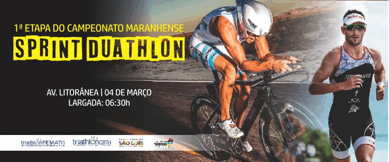 1ª etapa do Maranhense de Sprint Duathlon 2018