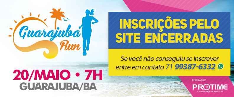 GUARAJUBA RUN - 1ª ETAPA