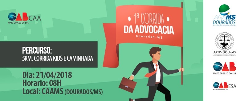 Corrida da Advocacia - Dourados/MS