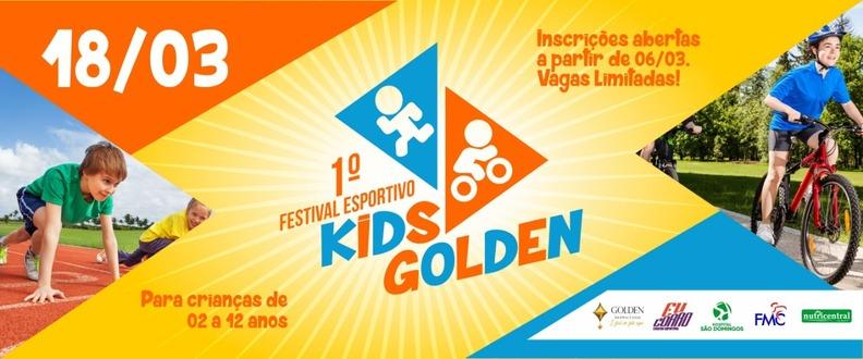 1º FESTIVAL ESPORTIVO KIDS GOLDEN