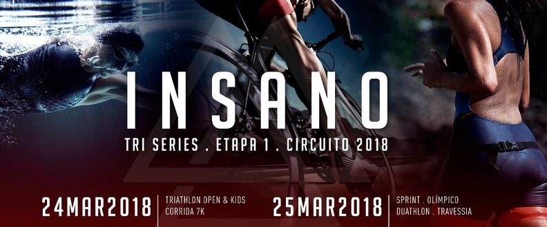 INSANO TRI SERIES ETAPA 1 - TRAVESSIAS