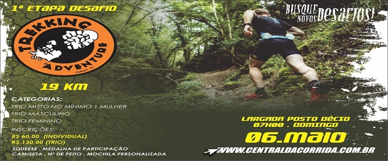 1° Etapa Desafio Treking Adventure Gurupi-To
