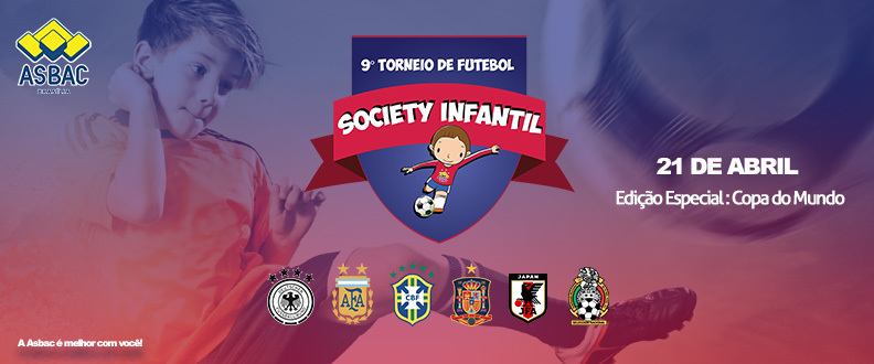 9º TORNEIO DE FUTEBOL SOCIETY INFANTIL DA ASBAC