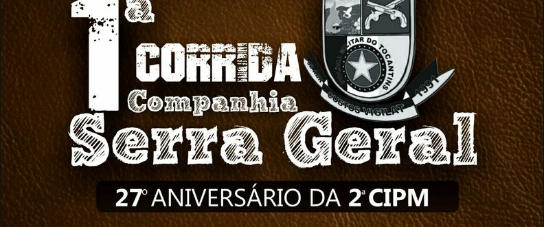 1ª CORRIDA COMPANHIA SERRA GERAL