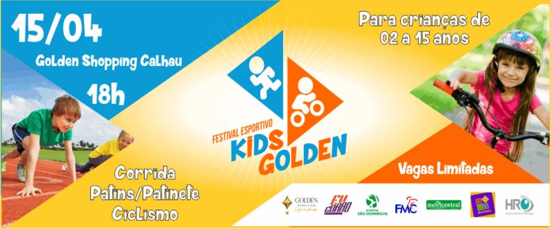 FESTIVAL ESPORTIVO KIDS GOLDEN - 2ª edição