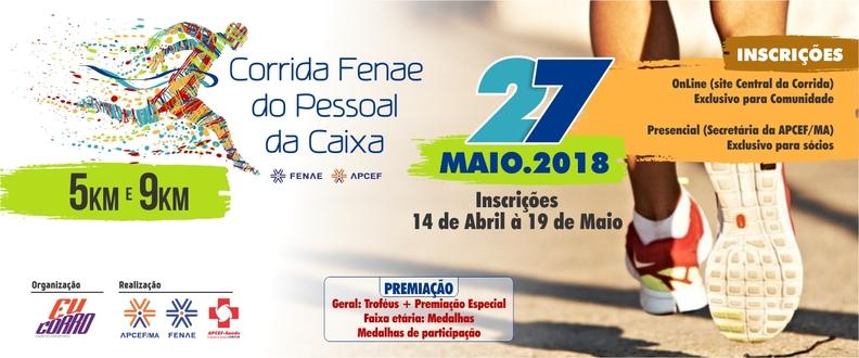 CORRIDA FENAE DO PESSOAL DA CAIXA 2018