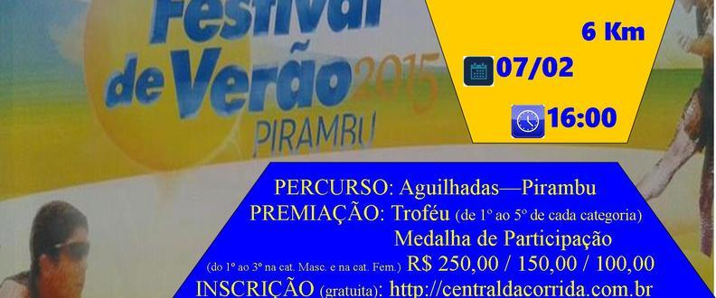 Corrida de Verão - Jogos de Verão - Pirambu 2015