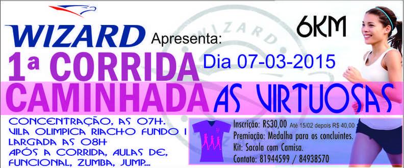 CORRIDA E CAMINHADA AS VIRTUOSAS RIACHO FUNDO 1