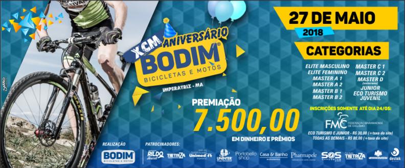XCM ANIVERSÁRIO BODIM 2018