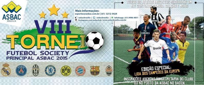 VIII Torneio de Futebol Society Principal da Asbac