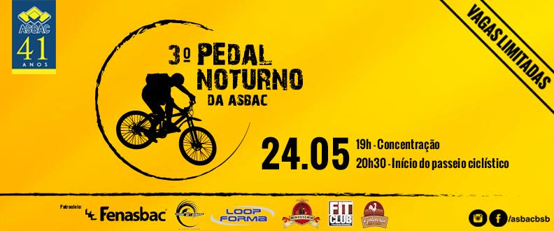 3º Pedal Noturno da Asbac
