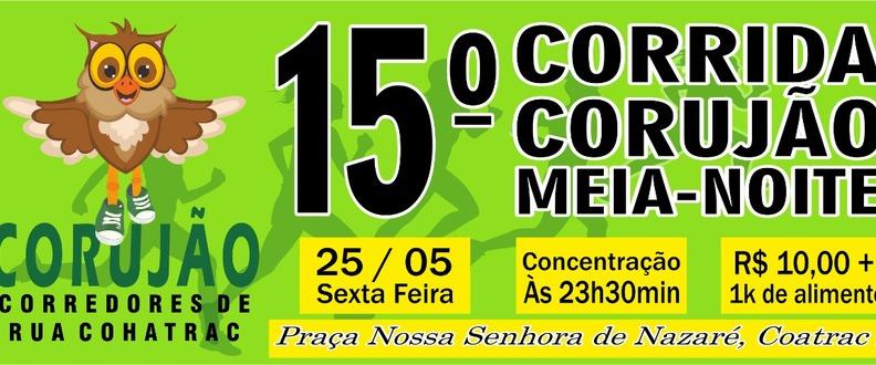 15° TREINO CORRIDA CORUJÃO MEIA NOITE