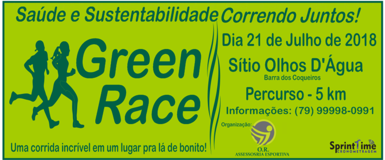 GREEN RACE SERGIPE