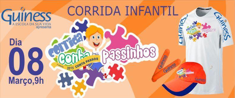 CORRIDA INFANTIL CONTA PASSINHOS 1ª etapa 2015