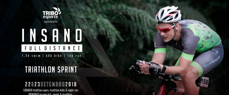 INSANO TRI SERIES - SPRINT TRIATHLON