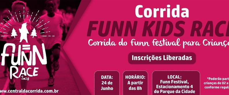 Funn Kids Race - A corrida do Funn Festival Kids