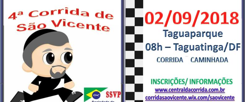4ª CORRIDA DE SÃO VICENTE – 2018