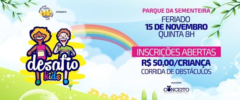 DESAFIO KIDS 2018 - CORRIDA DE OBSTACULOS