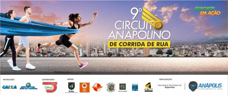 9º Circuito Anapolino de corrida de rua/ 3º ETAPA