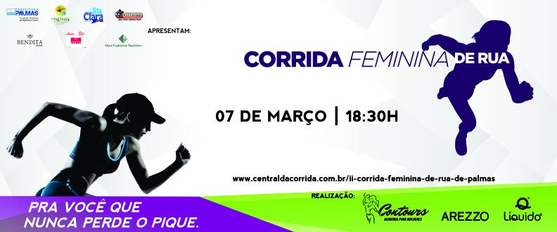 II CORRIDA FEMININA DE RUA DE PALMAS