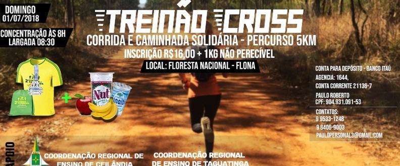 Treinão Cross Corrida e Caminhada Solidaria