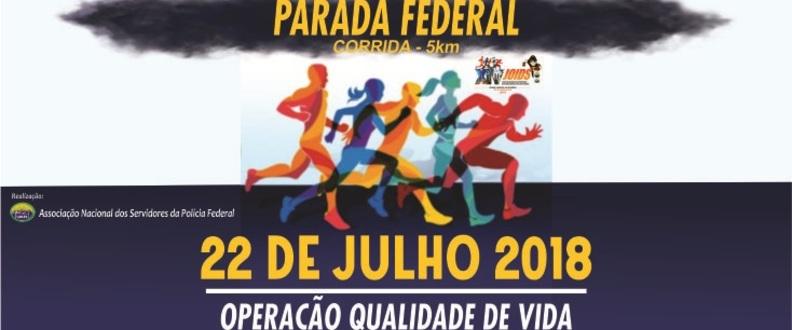 PARADA FEDERAL DE CORRIDA