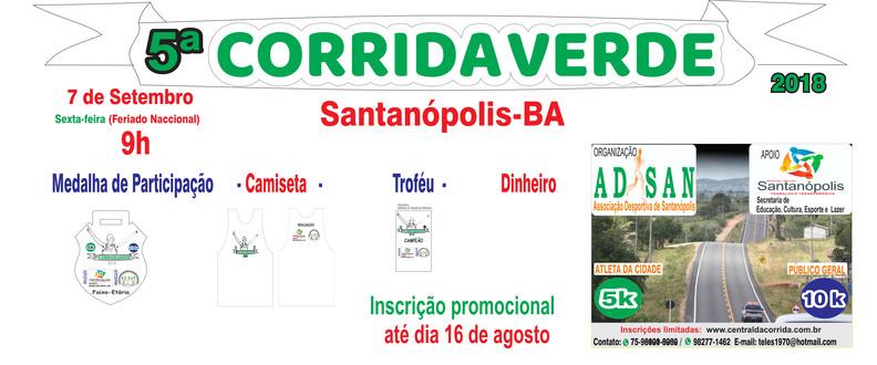 CORRIDA VERDE DE SANTANÓPOLIS