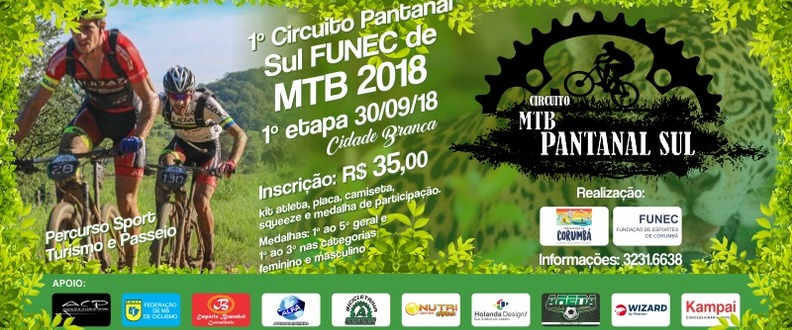 Circuito FUNEC Pantanal Sul de MTB