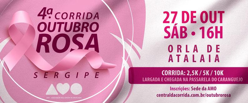 4ª CORRIDA OUTUBRO ROSA 2018