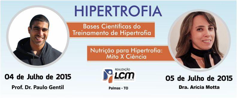 Curso Paulo Gentil - Hipertrofia