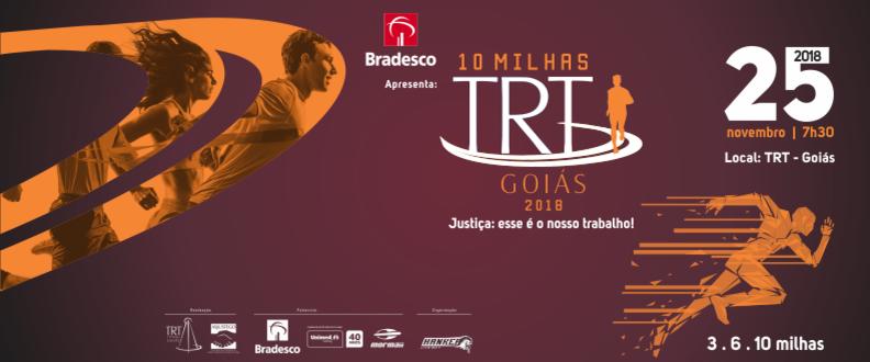 10 Milhas TRT Goiás 2018
