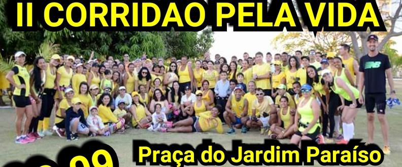 III CORRIDÃO PELA VIDA SETEMBRO AMARELO