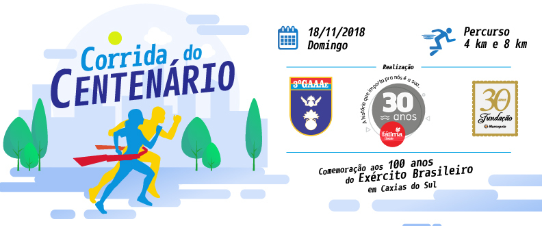 CORRIDA DO CENTENÁRIO 3°GAAAe
